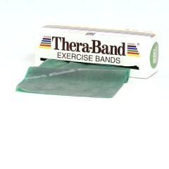 Thera-Band grün, Rolle 5,5 m