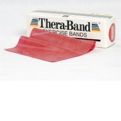 Thera-Band rot, Rolle 5,5 m