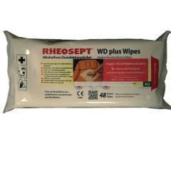 Rheosept WD plus Wipes